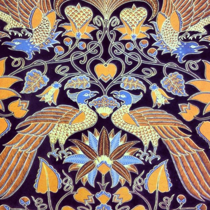 Batik from Surakarta, Central Java, Indonesia