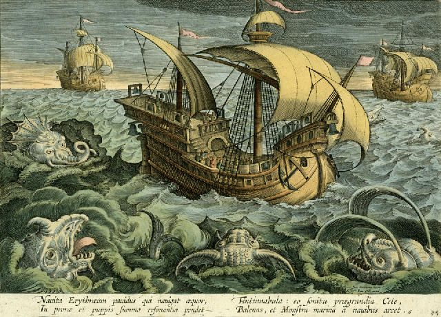 sea monster pictures | ... at Ivan's SITU files: meaningless reports of sea monsters.Part two
