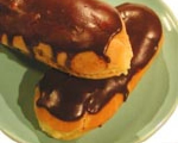 Get Chocolate Eclairs Recipe from Food Network