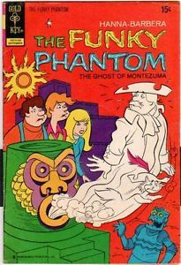 gold key comics   ... The Funky Phantom Comic Book Sept 1972 No 3 Gold Key Comics   eBay