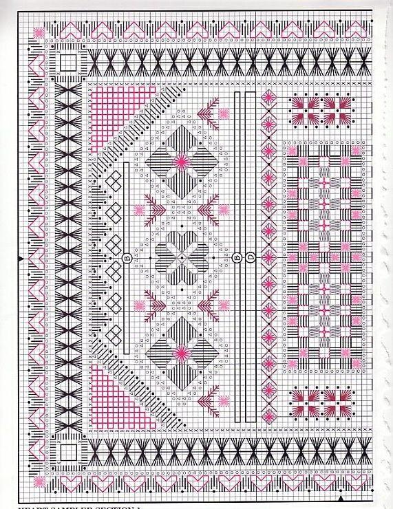 347 best HARDANGER images on Pinterest Embroidery, Hardanger - tapeten für küche