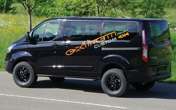 ford tourneo transit custom 4x4 sweet van man pinterest 4x4 ford. Black Bedroom Furniture Sets. Home Design Ideas