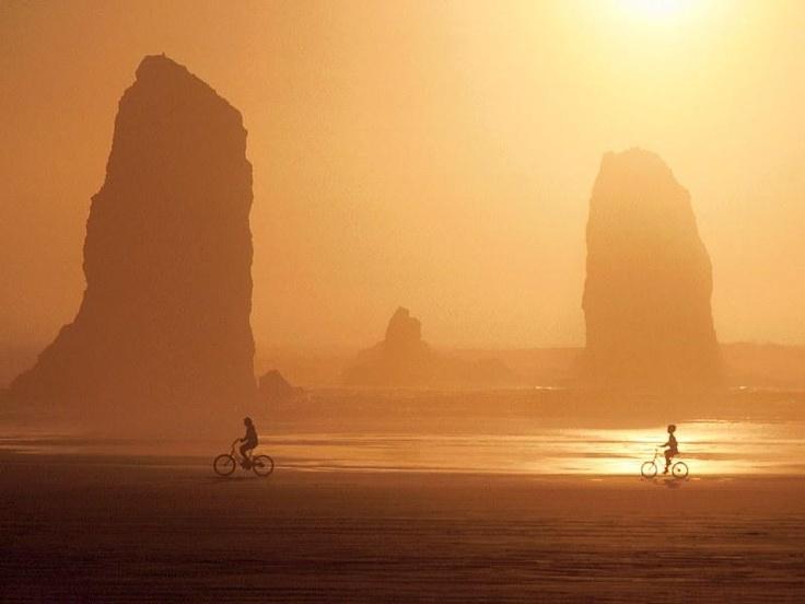 Sunset Canyon Beach, Oregon