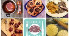 Quirky Scottish Recipes for Burns Night. Haggis, Shortbread, Ham in Irn Bru, Whisky Neeps, Puddocks, Meatball Thistles, Tattie Scones, Oatcakes.