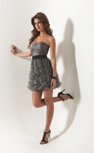 Imagen: vestido corto para fiestas