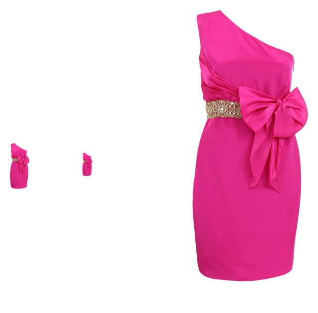"""""""chic"""" by iduranti on Polyvore featuring moda e Notte by Marchesa"""
