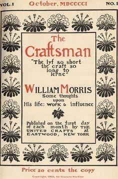 William Morris- Ele não investiu na tipografia até muito tarde na sua carreira. Em 1888, ele inspirou-se para começar a imprimir após uma palestra de Emery Walker na Sociedade de Artes e Ofícios, em Londres.