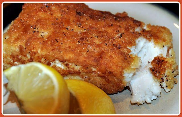 Crunchy flaky halibut oh so delicious fish lemon for Halibut fish recipes