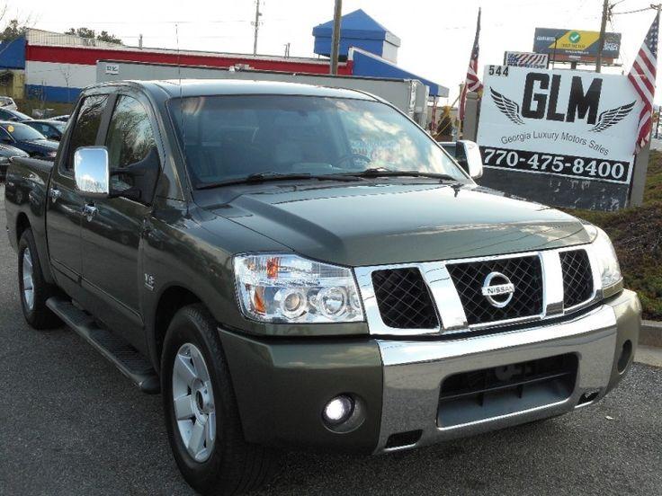 2004 Nissan Titan $6350 http://www.GEORGIALUXURYMOTOR.COM/inventory/view/9853150