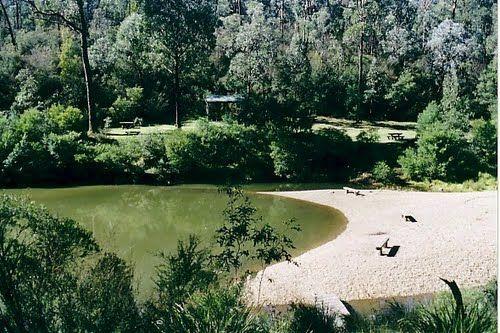 Camping at Blue Pool - VIC
