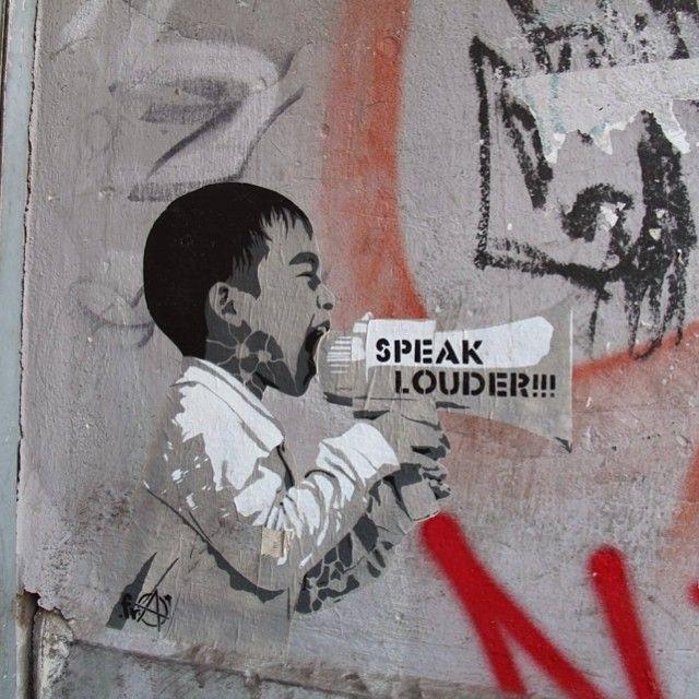 Berlin street art #berlin #graffiti #stencil