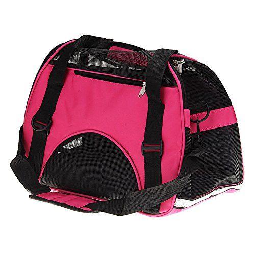 Sac de transport panier cage pas cher pour chien et chats fashion dogs coloris rose,bleu,vert avec 2 tailles disponibles: 100%neuf et haute…