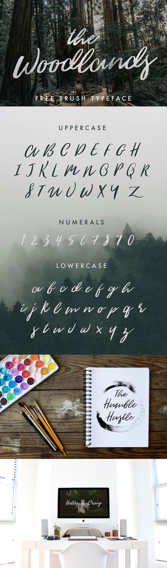 THE WOODLANDS - FREE FONT par Jeremy Vessey - 28