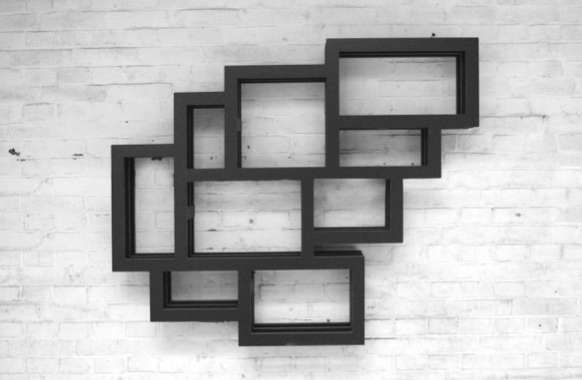 29 Clustered Cubed Cubbies #art trendhunter.com