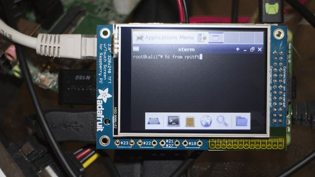 Kali is a great tool for testing the security of your network and the operating system works on just about everything that can run Linux. That includes the Raspberry Pi. What's even better is a new distribution that brings along support for a touchscreen.