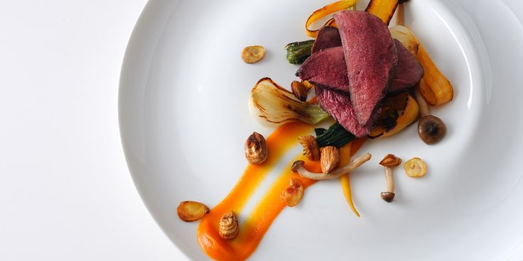 This gorgeous wood pigeon recipe from chef Alan Murchison includes a serving of cobnuts for an ideal main at an autumnal dinner party