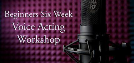 Beginners voice acting workshop