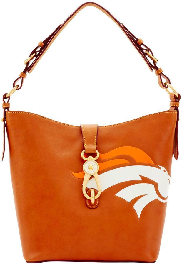 NFL Denver Broncos Dooney & Bourke Lily Bucket Bag - this is definitely on my Christmas list!! Love it!!