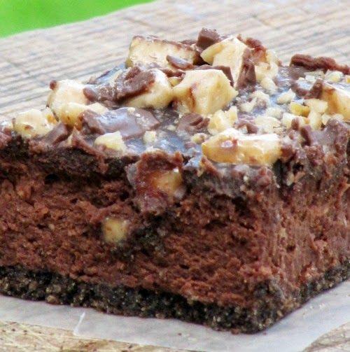 Once Upon A Chocolate Life: Skor Toffee Bar Chocolate Cheesecake