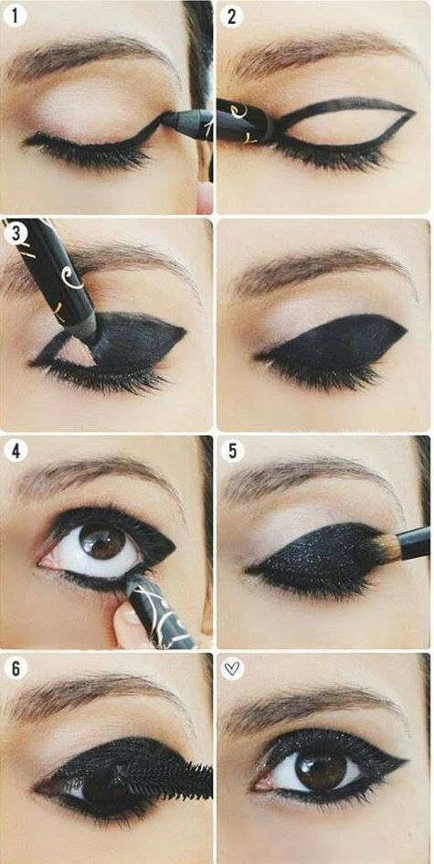 Eyeliner idea (my mother would kill me, though)