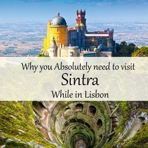 Why you absolutely need to visit SIntra while in Lisbon Planning a trip to Lisbon, Portugal soon? If it's not among your near future plans, it definitely deserves to be added to your bucket list! It's a gorgeous city I had the chance to see in the sprin… travel, travel tips, travel blog, travel blogger, backpack, backpacking, sintra, Lisbon, Portugal, Europe, Quinta da Regaleira, Palacio de Pena, Palacio Monserrate, what to do in Lisbon, Day trip