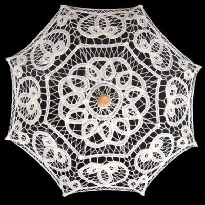 Coton Ombrelle de mariage (124060673)