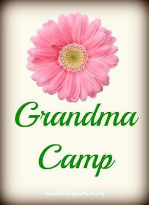 Grandma Camp - great ideas on things the kids and grandparents can do together!