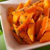 Жареная морковь с кумином