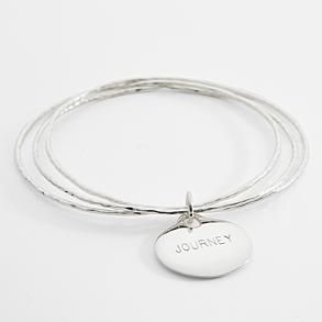 Personalized Sentiment Bracelets personalized sentiments charm