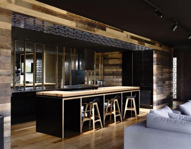 33 best Deco cuisine images on Pinterest Interior, Bay windows and - fabriquer sa cuisine en bois