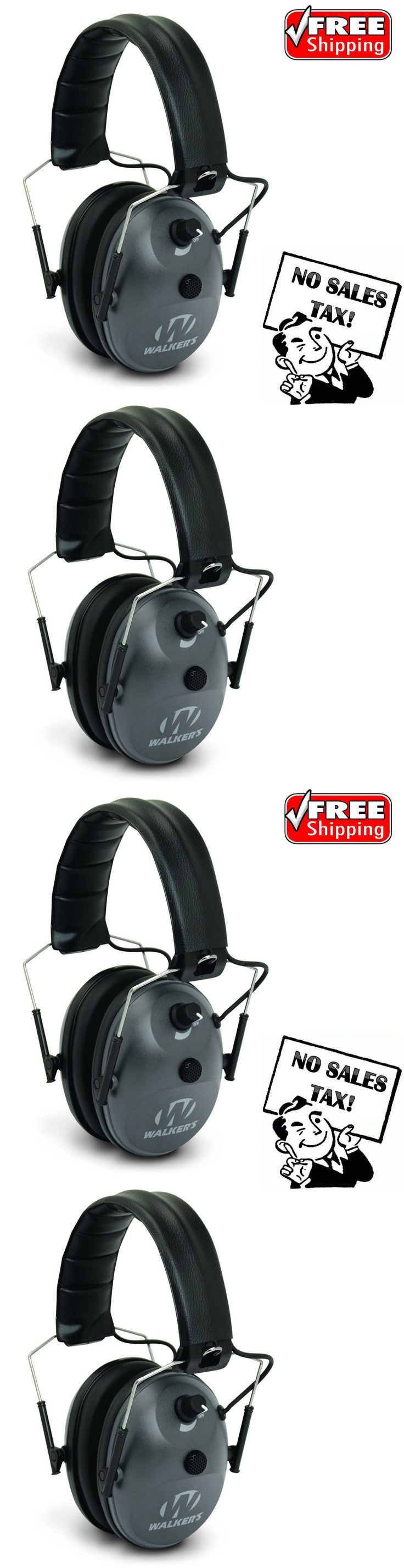 Hearing Protection 73942: Electronic Ear Muffs Hearing Noise Protection Shooting Hunting Gun Range Muff -> BUY IT NOW ONLY: $34.61 on eBay!