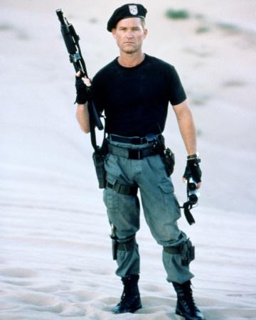 Kurt Russell in Stargate.