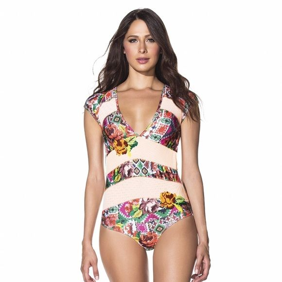 "Selling this ""Agua Bendita One Piece Swimsuit"" in my Poshmark closet! My username is: mquirsola1. #shopmycloset #poshmark #fashion #shopping #style #forsale #Agua Bendita #Other"