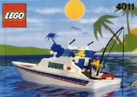 LEGO Instructions 4011 Cabin Cruiser