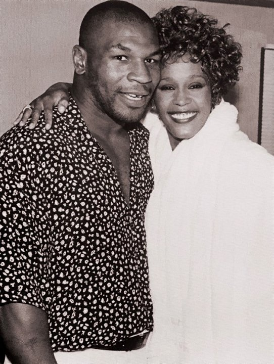 Tybalt and Lady Cap- Mike Tyson and Whitney Houston