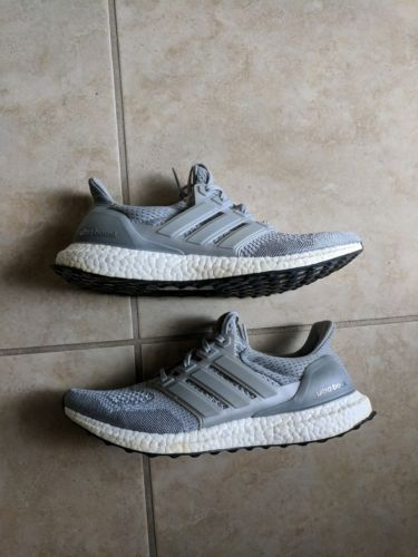 0f229c31502ea Details about Adidas Ultra Boost 1.0 LTD sz 9.5 Gray Grey Silver ...