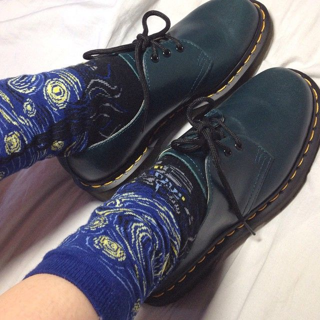 @florensbur Wearing the Dr. Martens 1461 Shoe