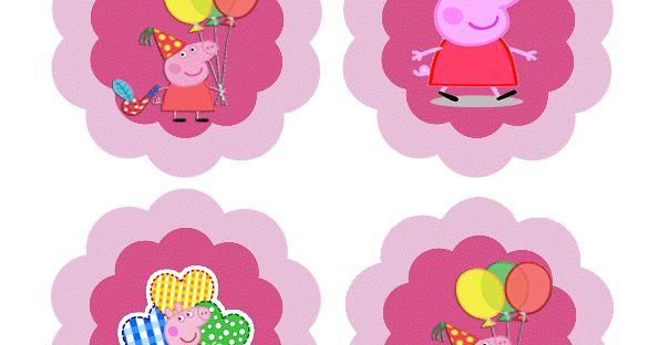 Decoracion para cupcakes de peppa pig, decora tus ricos cupcakes o muffins que has preparado para sus fiestas de cumpleaños o una tarde de ...