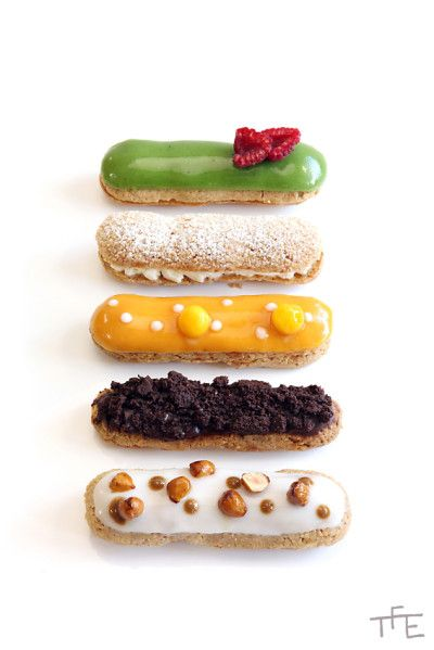 Éclairs... For you to stay sweet!!