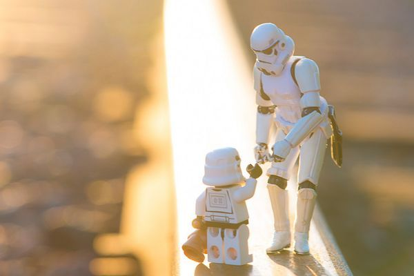 Still Life Photography with Toy Stormtroopers by Kristina Alexanderson  Pick me up, pls
