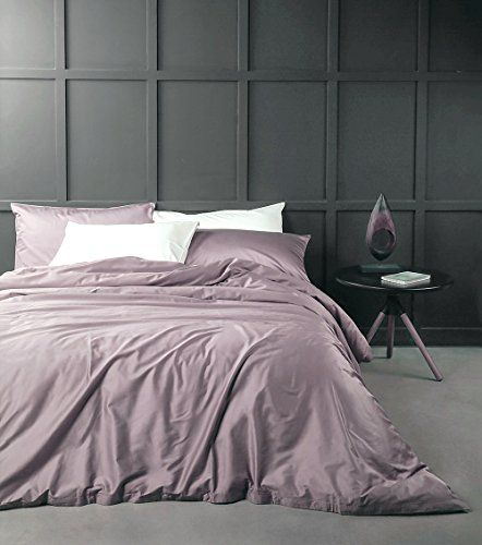 Solid Color Egyptian Cotton Duvet Cover Luxury Bedding Se...