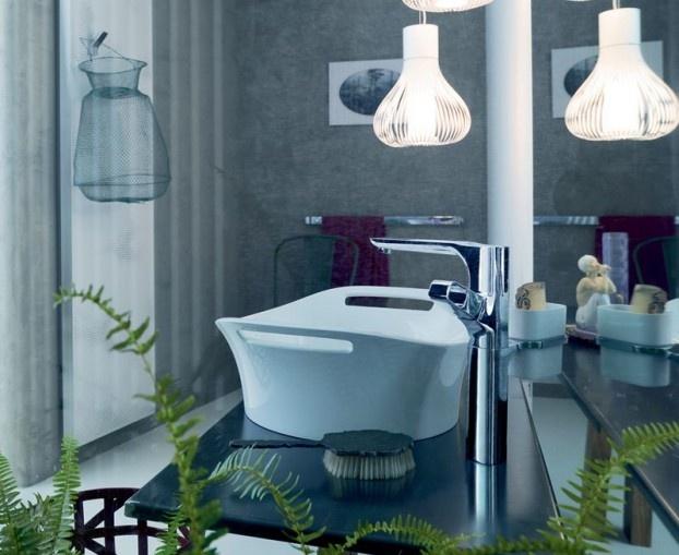 Luxury Axor Urquiola Bathroom Design With Plant And Unique Lamp U2013 Axor  Urquiola Bathroom Design By Patricia Urquiola