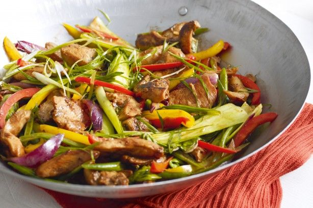 Some fresh produce and a few pantry staples are all you need for delicious hoisin chicken stir-fry.