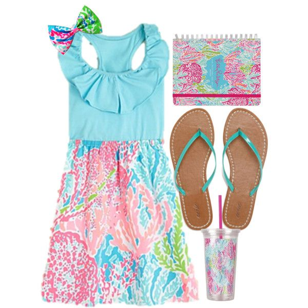 """""""Can you tell this is my favorite Lilly Pulitzer pattern?"""" by rebeccaleigh97 on Polyvore"""