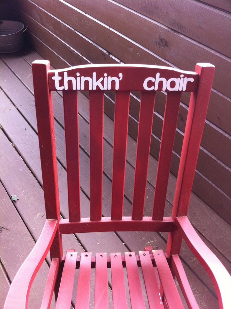 My Daughteru0027s Time Out Chair