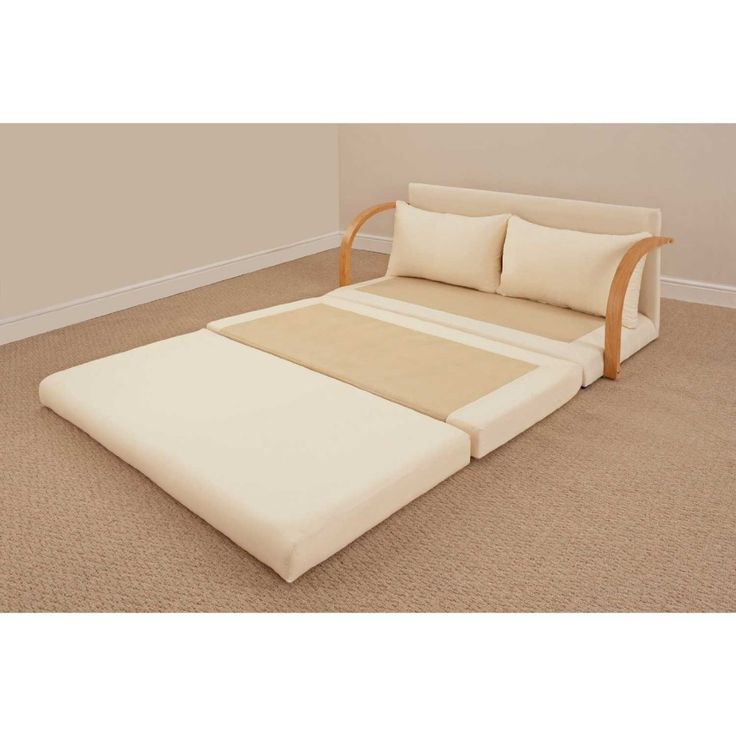 Chloe Fold Out Double Foam Bed Settee