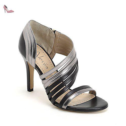 Chaussures Alesya noires femme LfSEgiN