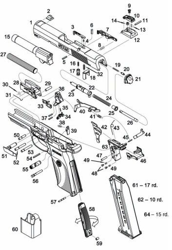 22 best gun diagrams and parts images on pinterest hand. Black Bedroom Furniture Sets. Home Design Ideas