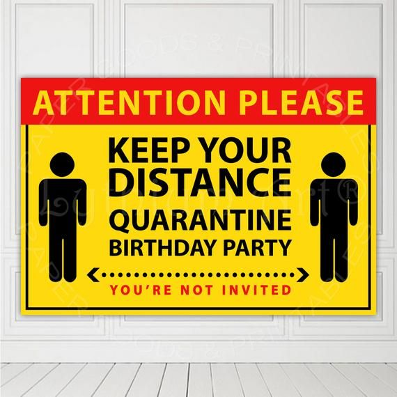 Drive By Party Any Age Social Distancing Printable Birthday Party Sign Quarantine Party Poster INSTANT DOWNLOAD Birthday Template