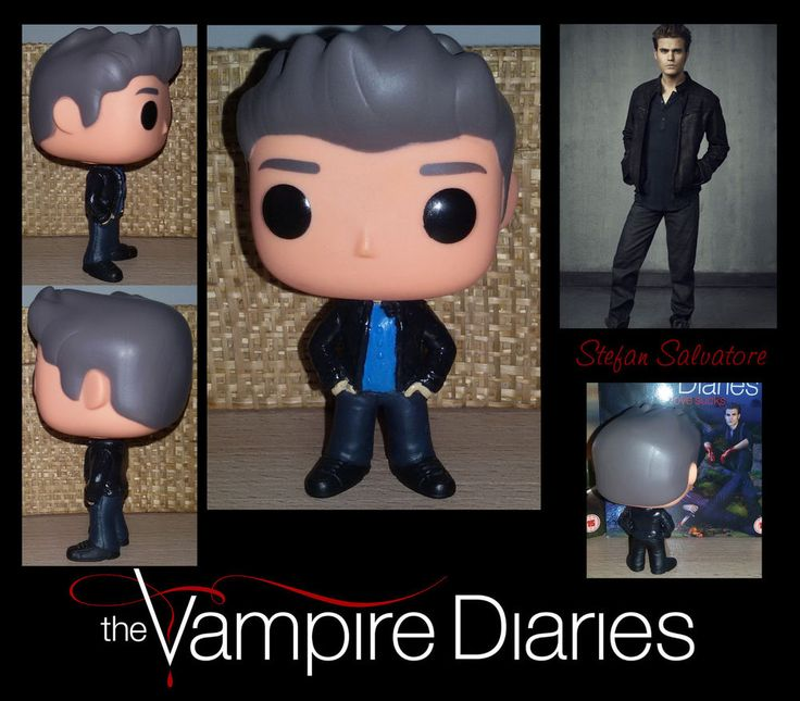 The Vampire Diaries Custom Funko Pop Stefan Salvatore
